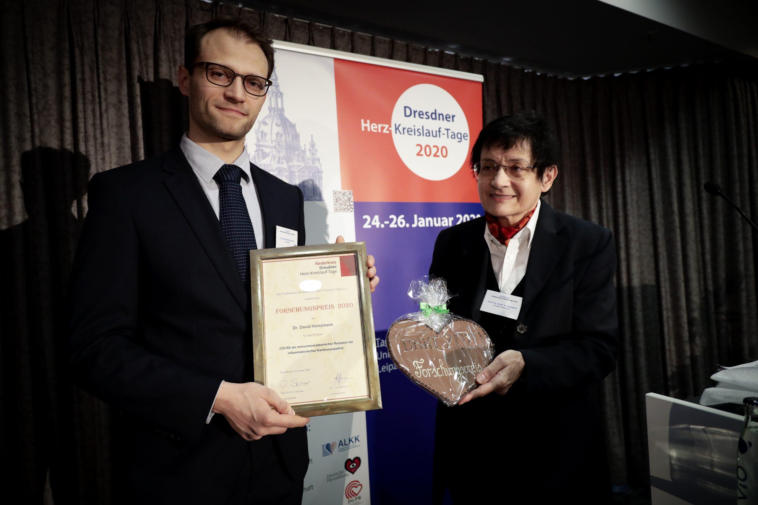 Preisträger Forschungspreis DHKT 2020